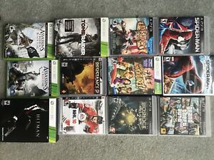 Video games ps3, Xbox 360, wii