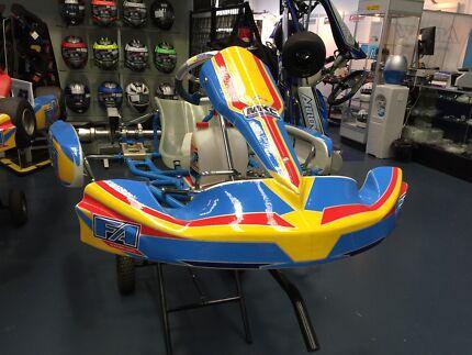 FA OTK Go Kart  with IAME KA100 engine ready to race Canterbury Boroondara Area Preview