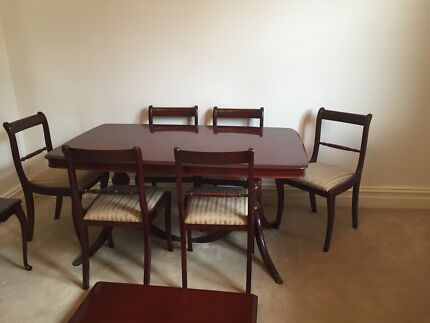 Antique dining table Burwood Burwood Area Preview