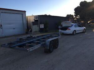 Car trailer (unfinished)