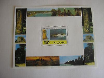Tanzania 20th Anniversary of  Revolution Zanzibar Stamp Sheetlet 1964 - 1984