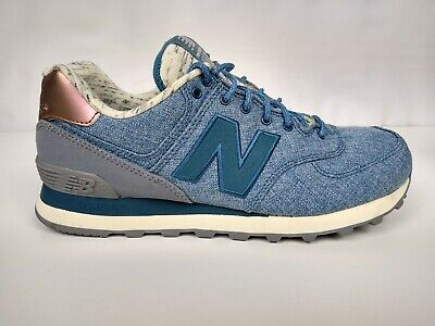New Balance 574 Women's Classic Walking Running Sneakers Size 9.5 Blue