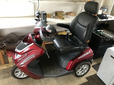 Mobility Scooter Drive Royale 3 Red 8mph 3 Wheel