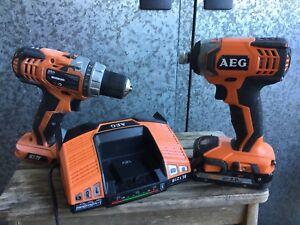 AEG 18 V Cordless Drills