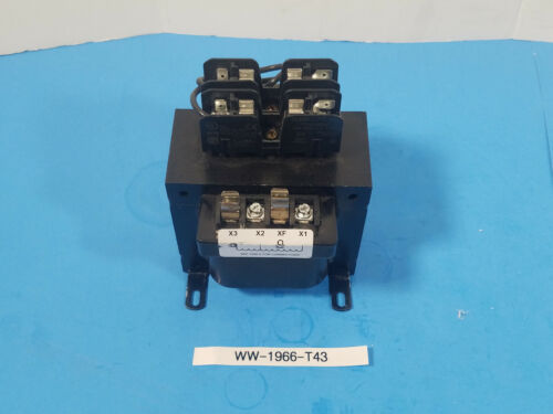 New ABB  X4250PSF1  250A CONTROL TRANSFORMER 480/230/208 pri 120/24 Secondary