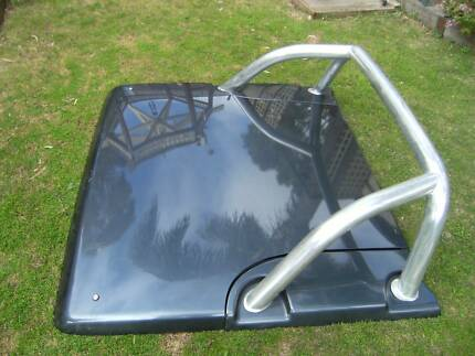 Mitsubishi Triton 2007 Hard Lid & Roll Bar Woodcroft Morphett Vale Area Preview