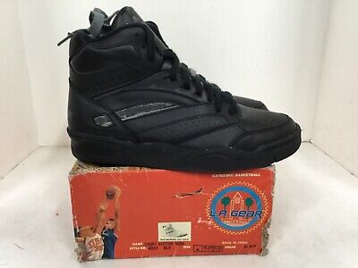 "L.A. Gear Court Victor High Mens sneaker style#4061 size 8 Black ""vintage"""