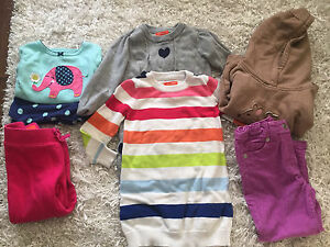 Girls clothing lot - 24m - 2t 7 piece
