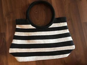 Liz Claiborne striped summer purse