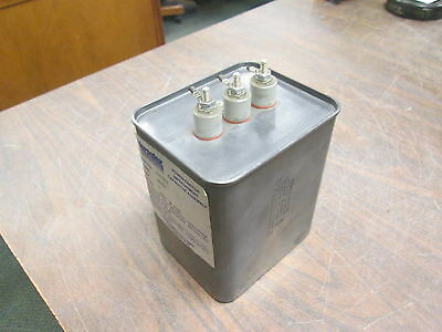 Versatex Power Factor Improvement Capacitor Assembly Abvcp 7 Kvar 480v 3ph Used
