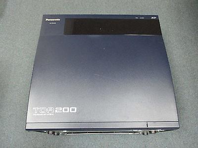 Panasonic Kx-tda200 Ip Pbx Cabinet W Mpr Sd Kx-tda0104 Medium Power Supply