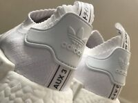 Adudas Triple White Japan NMD sz9.5 MINT
