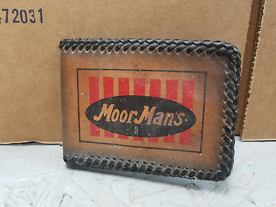 1970s Moor Man's  Leather  Wallet / Billfold  New Old Stock