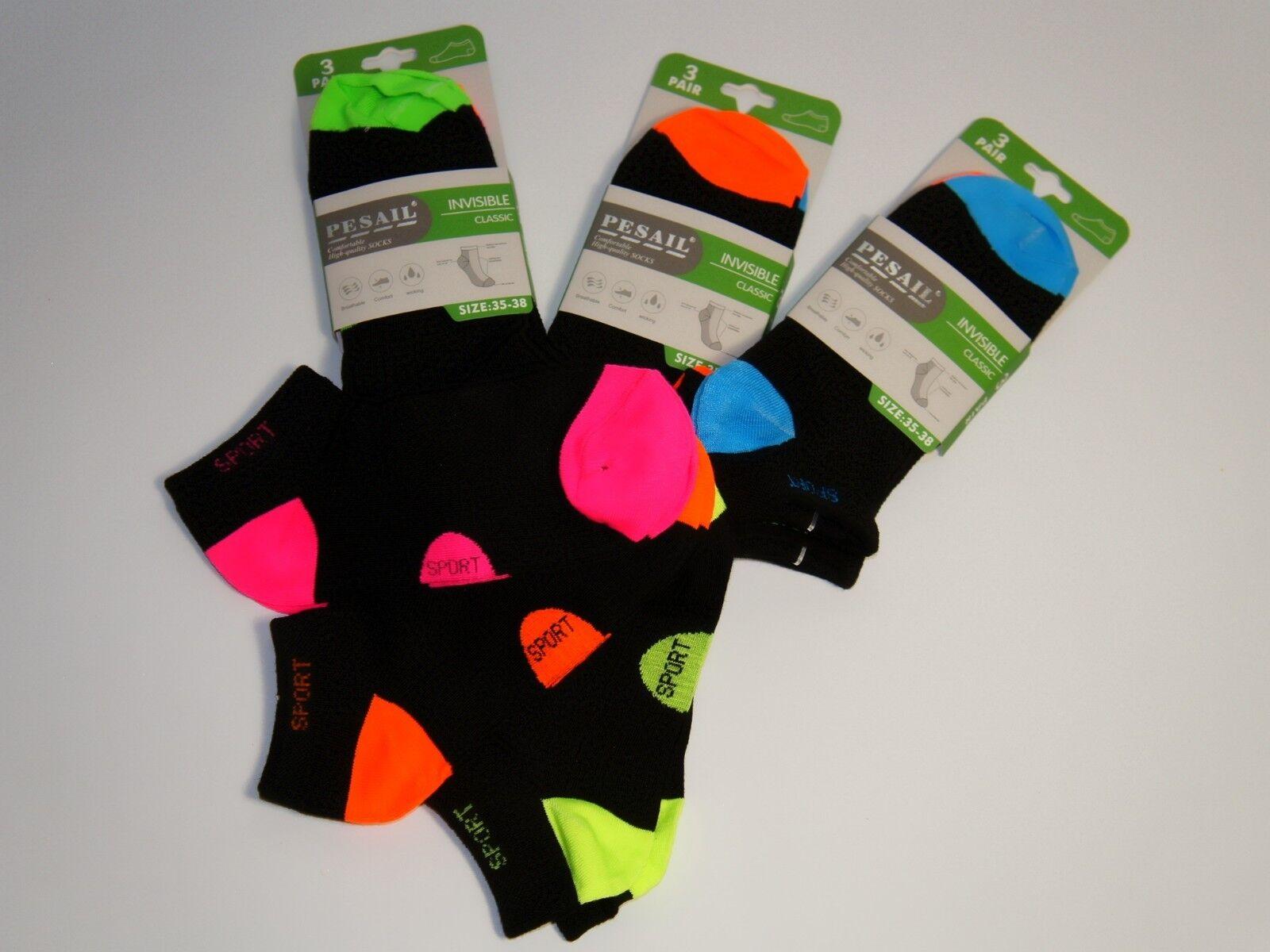 Socken 3er Set Sportsocken Kindersocken Sneaker-Socken Strümpfe Mädchen Jungen