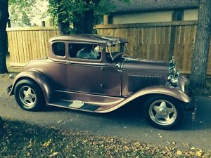 1931 Model A Ford 5 Window Coupe (2 door)