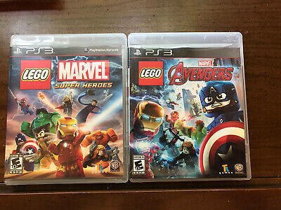 Ps3 lot 2 Marvels superhero and Adventures