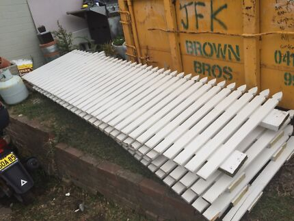 White picket fence panels Queenscliff Manly Area Preview