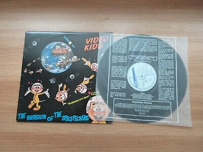VIDEO KIDS - The Invasion Of The Spacepeckers Korea Orig LP 1985 DISCO RARE