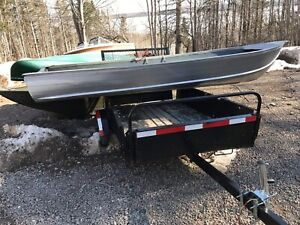 14 ft aluminum sears boat