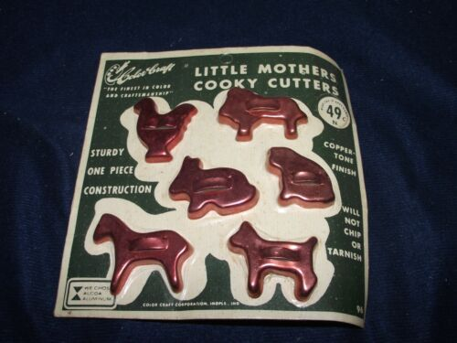 Color Craft Little mothers Cookie Cutters
