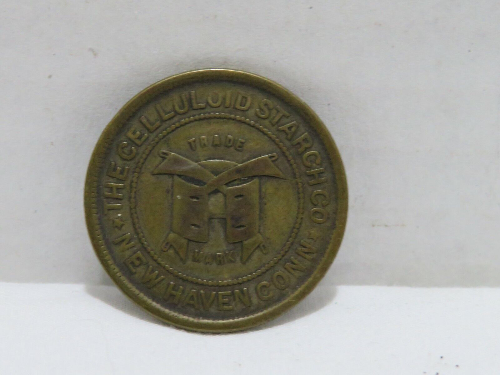 THE CELLULOID STARCH CO NEW HAVEN CONN TOKEN MORE - $16.95