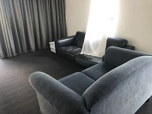 Fully furnished one bedroom with the city views