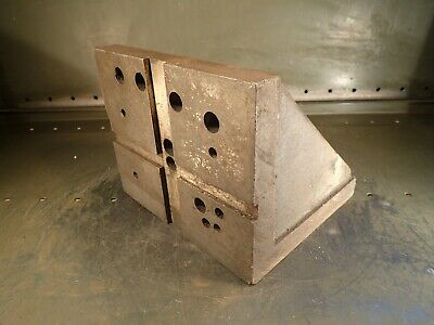 9-14 X 8-34 X 8 Heavy Duty Right Angle Mill Milling Set-up Fixture Plate