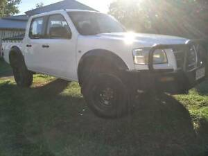 2007 Ford Ranger Manual Dual Cab Ute