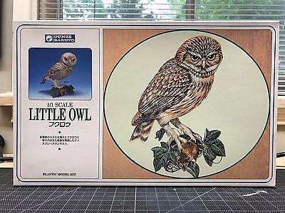 Gunze / AIRFIX Wildlife Series Little Owl Plastic Model Kit - 1/1 Scale