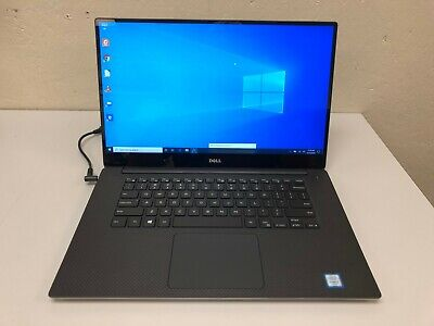 Dell Precision 5520 UHD TouchScreen Laptop I7 6820HQ 16GB 512GB NVME SSD 10 Pro