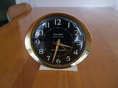 Vintage Westclox Big Ben Repeater Mid Century Alarm Clock