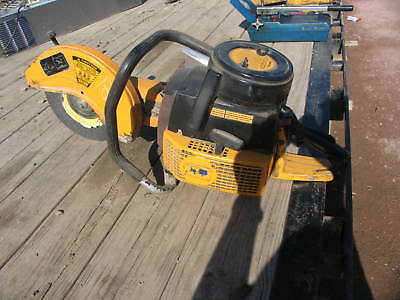 Wacker Bts12 Cut-off Chop Saw Concrete Asphalt Rebar Demolition
