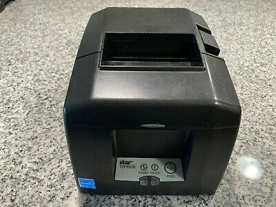 Star Tsp650ii Bti Tsp654iibi Thermal Bluetooth Receipt Printer Ios Square Pos