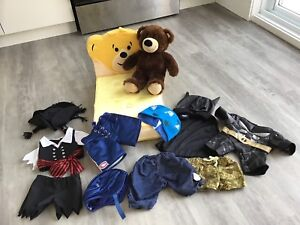 « Build a bear » jeu de déguisement ourson
