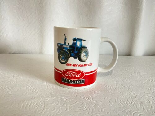 Ford New Holland 8730 Tractor Coffee Tea Cup Mug