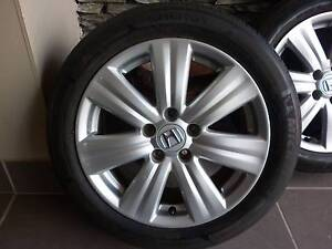 """HONDA ACCORD 17"""" ALLOYS AND TYRES - SET OF 4 Mount Gravatt Brisbane South East Preview"""