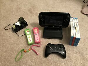 WiiU in GREAT condition + games/accessories