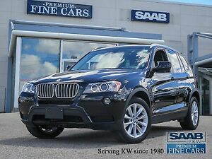 2013 BMW X3 XDrive 35i   ONE OWNER/Panorama Roof
