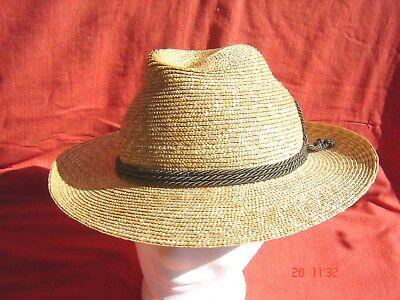 bayrischer Trachtenstrohhut natur Stroh  Werdenfelser  Strohborte - Bayrischer Hut