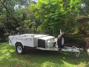 Off road Solid floor camping trailer Sun Valley Gladstone City Preview