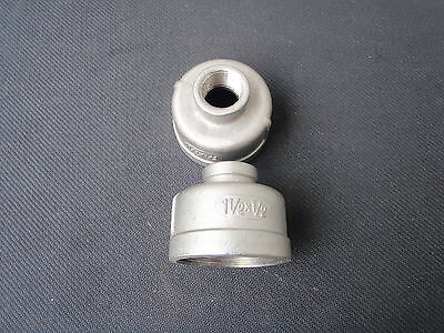 Stainless Steel Reducer Coupling 1 12 X 12 Npt Rc-150-050
