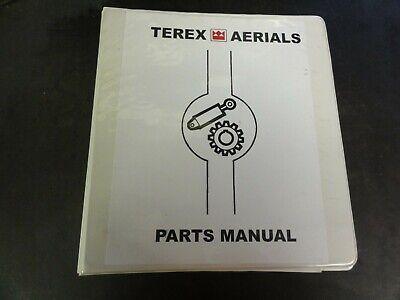 Terex Aerials Ts20 Ts20w Ts26 Ts26w Ts30 Scissor Lift Parts Manual