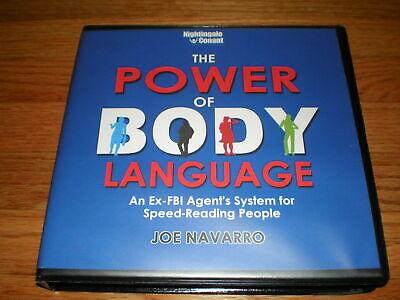 JOE NAVARRO The Power Of Body Language ( 9 CD SET)