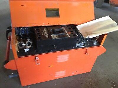 Emergency Power Engineering Portable Ac Load Bank 100kw Model Var208