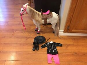 """My life 18"""" Horse With Accessories (American Girl Size)"""