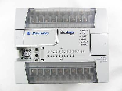 Allen Bradley Micrologix 1200 1762-l24bxb Ser C Frn 12 Nice Condition