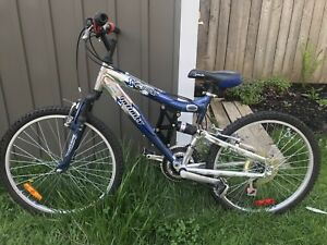 "Kids Bike: Infinity Brand  17"" frame, 24"" Wheels, 8-11 years old"
