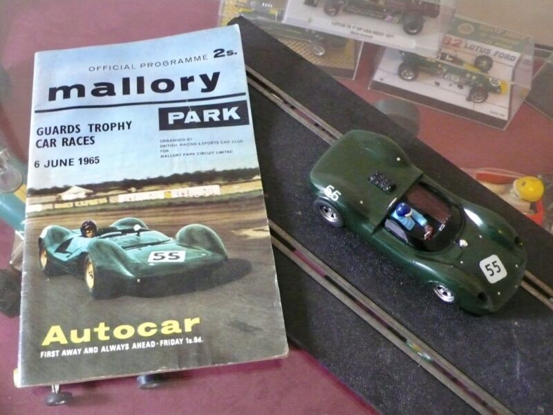 1/32 Strombecker Lotus 30 Custom Slot Car Jim Clark Period Programme