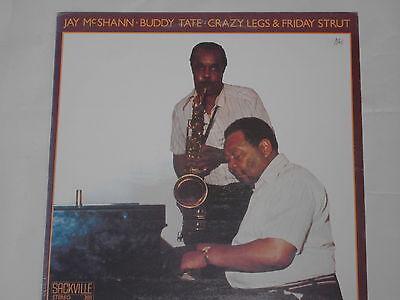 JAY MCSHANN - BUDDY TATE -Crazy Legs & Friday Strut- LP