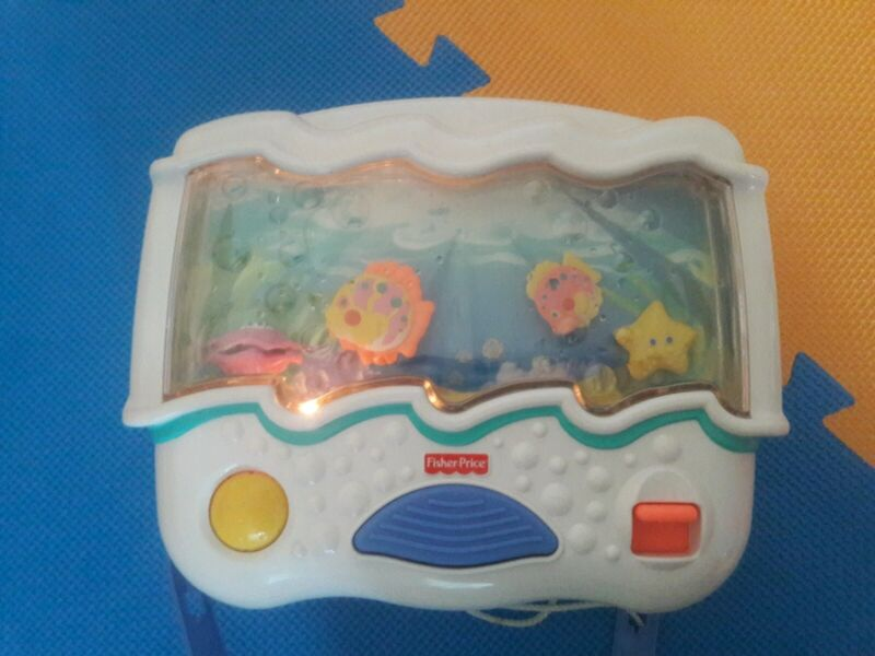 Fisher-Price Ocean Wonders Aquarium Baby Crib Soother #73545